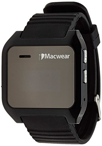 High-Tech Place High-Tech Place iMacwear Bluetooth Smartwatch - SMS + Phonebook Sync, Makes + Answers Calls, Pedometer, Call Records