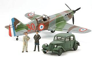 タミヤ 1/48 傑作機シリーズ No.109 フランス空軍 デヴォアティーヌ D.520 エース搭乗機 スタッフカー付 プラモデル 61109