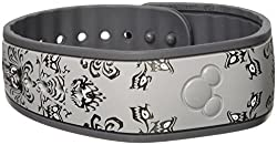 Haunted Mansion MagicBand Gray and Black Wallpaper