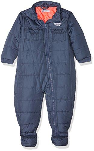 Dirkje Unisex Baby Toddler Snowsuit Schneeanzug, Blau (Mid Blue 1 Mid Blue), 1 Jahr (Herstellergröße: 80)