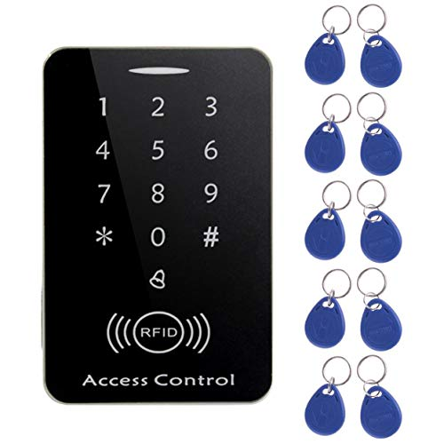 Tree-on-Life M203SE RFID Standalone Touchscreen Zutrittskontrollkartenleser Mit Digitaler Tastatur 10 stücke Schlüssel Karte Für Home Apartment Fabrik