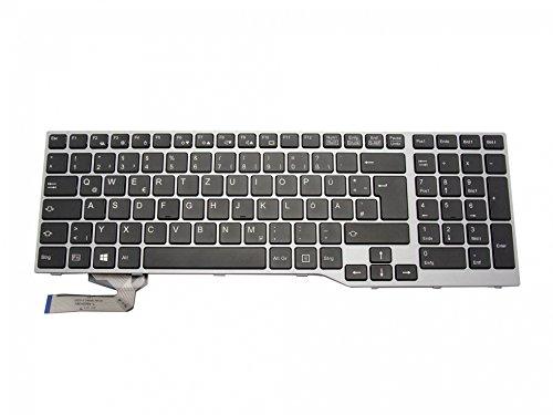 IPC-Computer Fujitsu Celsius H730 Original Tastatur DE (deutsch) schwarz/Silber mit Backlight