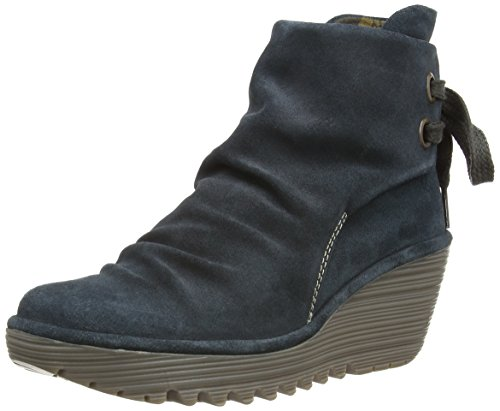 Fly London Womens Yama Oil Suede Boots P500326025 Anthracite 9 UK, 42 EU