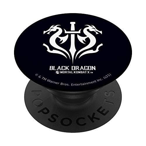 Mortal Kombat X Black Dragon PopSockets PopGrip Intercambiable