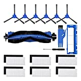 Modello compatibile: gli accessori per aspirapolvere robotizzati sono compatibili al 100% con Goovi D380, D382 (Goovi 1600PA), Goovi di ONSON F007C (Goovi 2000PA), Goovi di ONSON J10C (Goovi 2100PA), Coredy R3500000000. R350. 0S, R650, R750 (R700), R...
