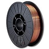 STAHLWERK MIG/MAG Schweißdraht Ø 0,8 mm, Stahl SG3 ER70S-6, auf 5kg S200/D200 Rolle mit 50mm Dorn, universell einsetzbar