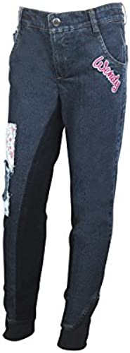 HKM Pantalon Wendy Denim Fond 3 4 128 (6-7 Ans)