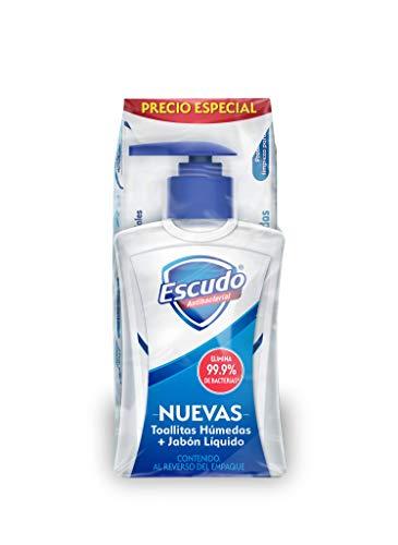 Jabon Liquido Antibacterial marca Escudo