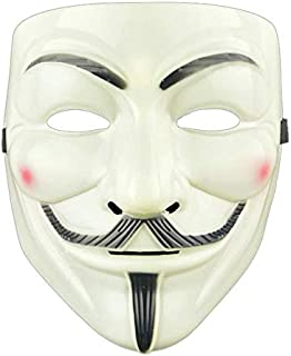 Hot Halloween Party Masks V for Vendetta Mask Anonymous Guy Fawkes Fancy Dress Adult Costume Accessory Party Cosplay Mask