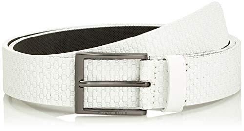 BOSS Ther-HB_sz35 Cinturón, Blanco (White 100), 120 (Talla del fabricante: 105) para Hombre