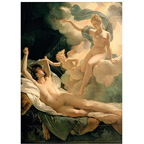 Jinbox Pierre Nasis Garland's Dream and Aries Canvas Painting Wall Art Picture Posters and Prints for Living Room Home Decor 60x90 cm x1 No Frame