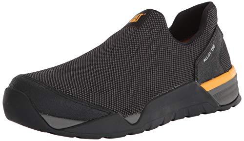 CAT Footwear Sprint - Zapatos de seguridad para hombre con puntera de aleación, Negro (Negro), 44.5 EU