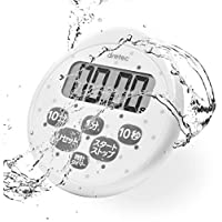 dretec(ドリテック) 防水タイマー 時計付き ホワイト T-565WT