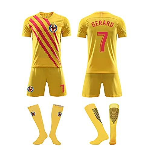 HUISEDIDAI Camisetas de fútbol para hombre Camiseta + Pantalones cortos + Calcetines...