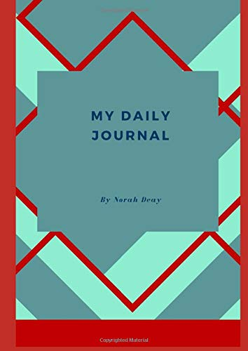 My Daily Journal: BIG Journal/A4 size/64 pages/Art Deco Style