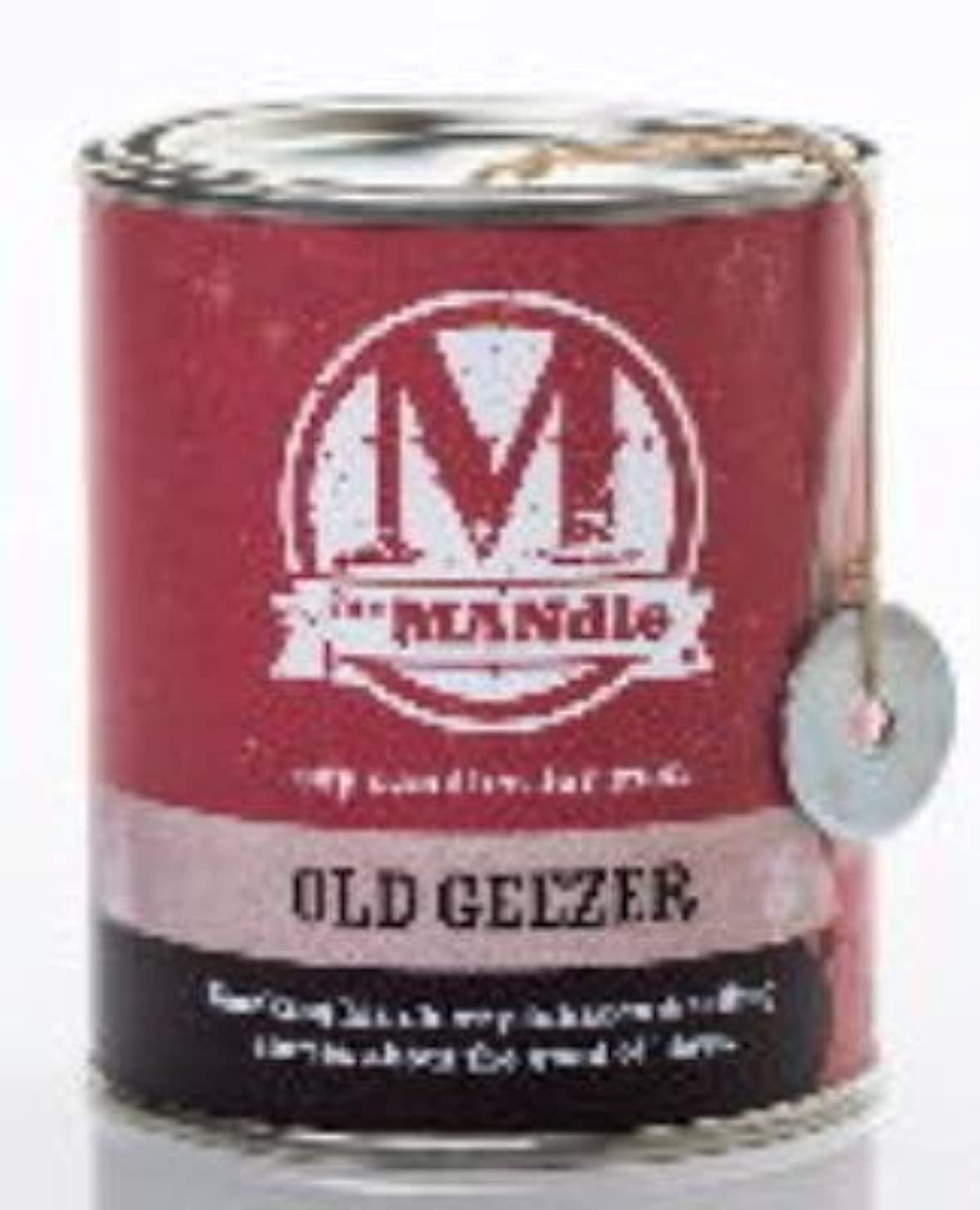 OLD GEEZER - The MANdle Scented Candle by Eco Candles okkewedyj