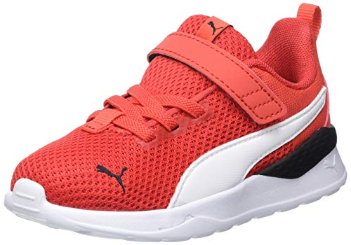 Puma Unisex Baby Anzarun Lite Ac Inf Sneaker, Poppy Red White, 20 EU