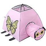 Zelt Wigwam Spielzelt Kinderzelt Tierstadt Mesh Tunnel Butterfly House Babyspielzeug Castle Ball...