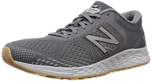 New Balance Men's Fresh Foam Arishi V2 Running Shoe, Magnet/Grey, 8.5 M US