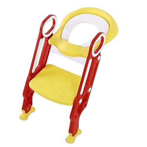 Adaptador WC Niños con Escalera, Asiento WC Niños Plegable
