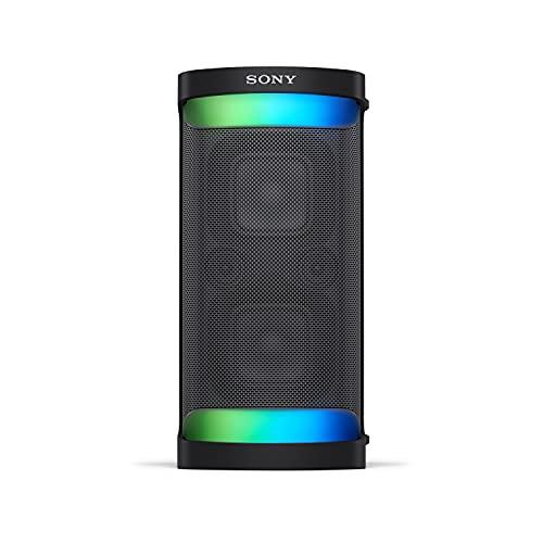 Sony SRS-XP500 - Speaker Bluetooth Ottimale per Feste con Suono Potente, Effetti Luminosi ed Autonomia fino a 20 Ore, Nero
