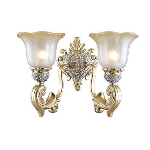Diamantgeslepen, E27, bescherming van de ogen 's nachts, kunst, led-wandlamp, traplicht, met glazen kap 229