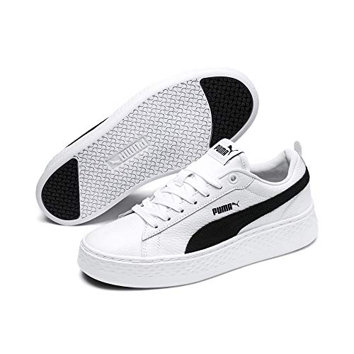 Puma Smash Platform L wit sneakers dames