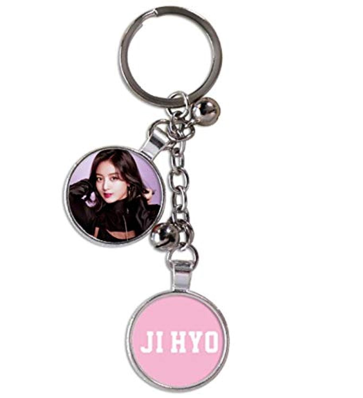 TWICE トワイス キーホルダー キーチェーン Key Holder coin type3 (JIHYO(ジヒョ))