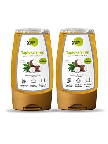 Pumperlgsund Tapioka Sirup Zuckerfrei Fiber Sirup für Fluff Low Carb (2 x 250 g)