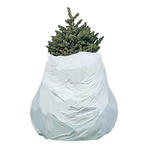 Kicko Christmas Tree Removal Bag - Set of 3-144 Inches x 90 Inches Heavy-Duty Disposal Bag and Skirt - for Home Supply, Cleaning Tool, Decoration Storage, Recycling