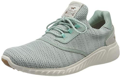 MUSTANG Damen 1315-301-706 Sneaker, Grün (Mintgrün 706), 39 EU