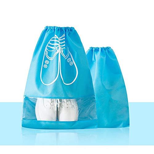 Verpackungs Veranstalter Reise Finishing Bag Staubdichte Schuhe Aufbewahrungstasche Bündeltasche Organizer Taschen Transparentes Fenster Für Stiefel High Heel Schuhe Und Sandalen für Reisegepäck-Organ