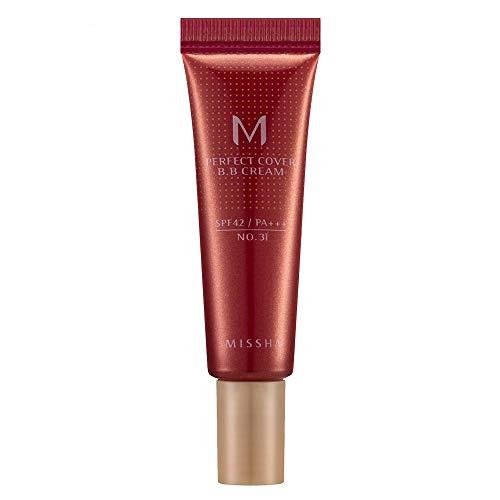 M Perfect Cover BB Cream 10ml Missha - Base Facial 31 - Golden Beige