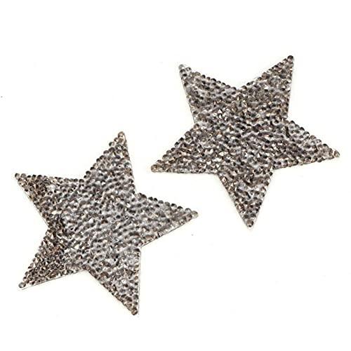 Brillante y brillante aplique de diamantes de imitación brillante pegatina de diamantes...