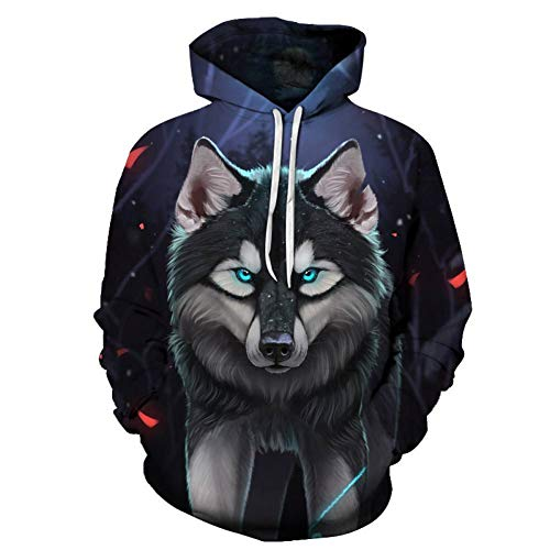 Rinaev Hoodie Mode Wolf Hoodies Männer/Frauen 3D Sweatshirts Drucken Tiger Goldfisch Hoody Hoodies Trainingsanzüge Tops