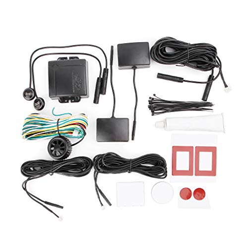 ECMQS Auto Blind Stelle Überwachung, BSD BSA BSM Radar Erkennung System Mikrowelle Sensor Assistent Auto Fahren Sicherheit