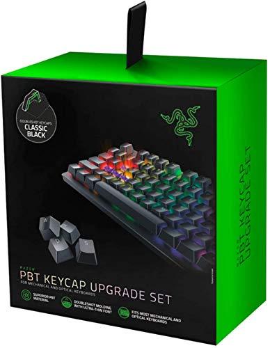 Razer PBT Keycap Upgrade Set Backlight Compatible Superior PBT Material Black