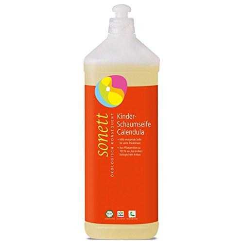 Kinderschaumseife Calendula NEU, 1000 ml Nachfüllflasche