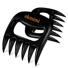 BARBECUE/GRILL LOVERS ESSENTIAL PAWS TOOLS:simple structure meat shredder claws, convenient use, efficiently complete the work of the bbq/cooking party, No longer have to worry about the chaos and helplessness brought by the traditional knife/fork, W...