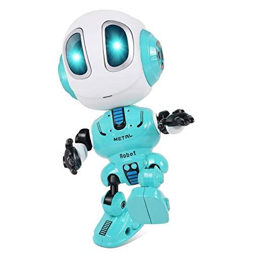 tanbea-DE Intelligenter Roboter, Roboterspielzeug für Kinder, das wiederholt, was Sie Sagen, Bunte blinkende Lichter und Coole Klänge, für Kindergeschenkgeschenk zum 3-8-jährigen Geburtstag