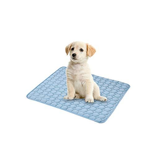 The Fellie Kühlmatte für Hunde, 50 x 40 cm, ungiftig, Sommer-Schlafbett, Komfort-Pad für kleine Hunde, Haustiere, Katzen, Welpen