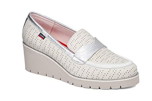 CALLAGHAN Zapatos Mocassini 24512 Blanco Blanco Size: 39 EU
