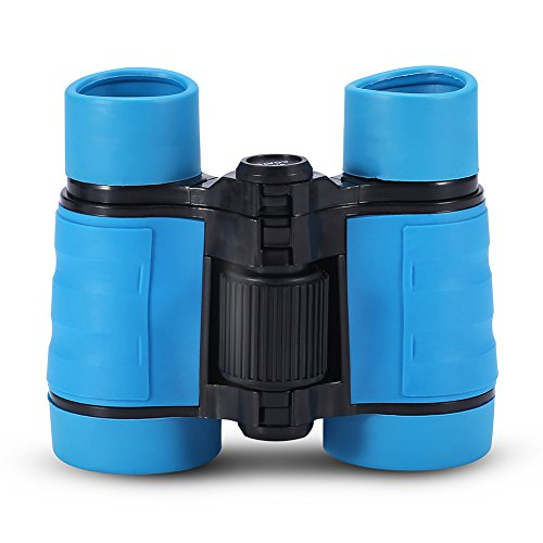 Binocolo Giocattolo per Bambini Telescopio Regali di Natale Outdoor Sightseeing, Bird Watching Telescope(Blu)