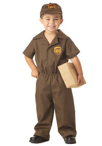 Little Boys' UPS Guy Costume Small (2-3)