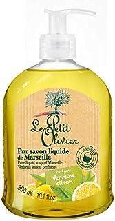 マルセイユのル?プティ?オリヴィエ純粋な液体石鹸、バーベナレモン300ミリリットル x2 - Le Petit Olivier Pure Liquid Soap of Marseille, Verbena Lemon 300ml (Pack of 2) [並行輸入品]