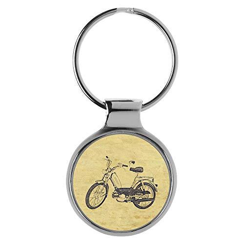 KIESENBERG Schlüsselanhänger Geschenke für Hercules Optima Mofa Fan A-20610