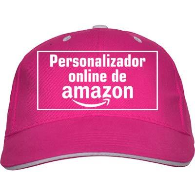 QCM Gorra Niño Personalizado Gorra Infantil Sombrero Personalizado Sombrero Niños Personalizado Niños Niñas Sombreros (Fucsia)