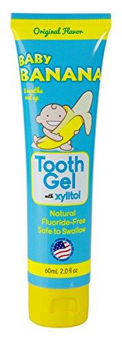 PRINCE LIONHEART Gel Dentaire Baby Banana Goût Original