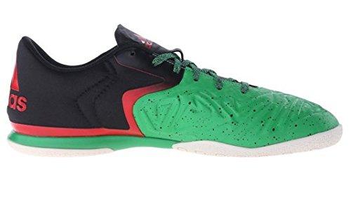adidas Performance Men's X 15.2 CT Soccer Shoe,Green/Black/White,10 M US