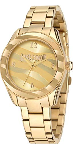 Just Cavalli Orologio al Quarzo Just Style Dorato 37 mm